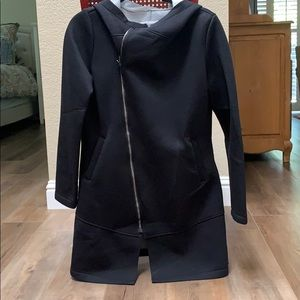 Betsey Johnson black pea coat